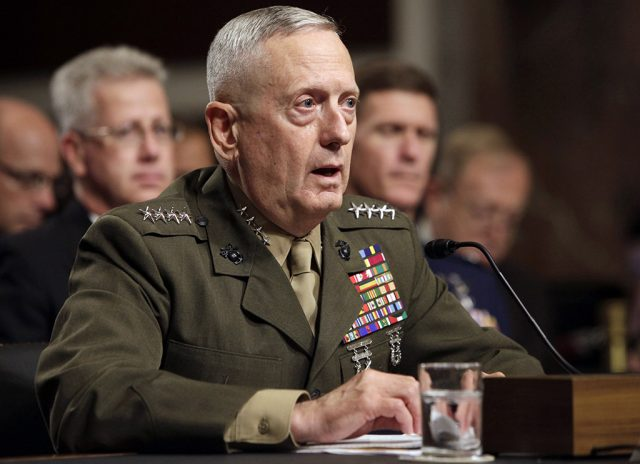 James Jim Mattis secretario defesa
